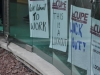 CUPE Local 3338 picket signs